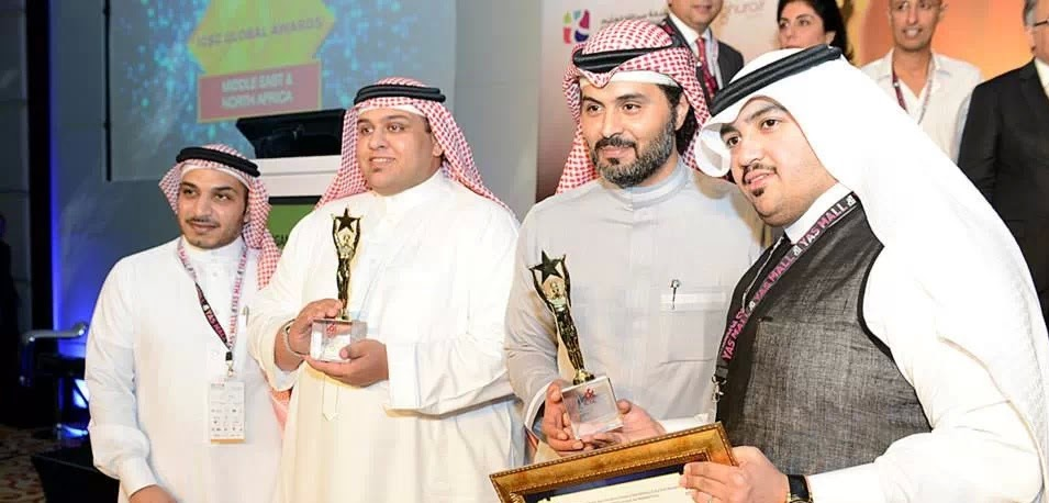 Motaz Hajaj Red Sea Mall Award Ceremony